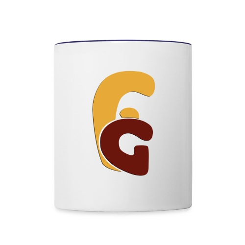 Logo x shadow - Contrast Coffee Mug