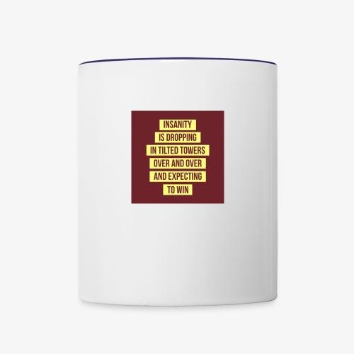 Insanity - Contrast Coffee Mug