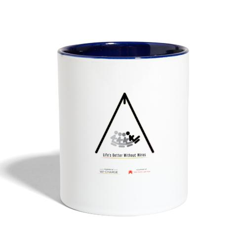 Life's better without wires: Swing - SELF - Contrast Coffee Mug