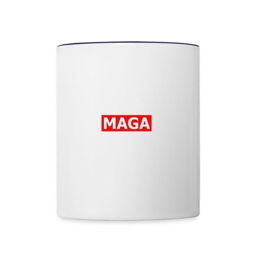MAGA - Contrast Coffee Mug