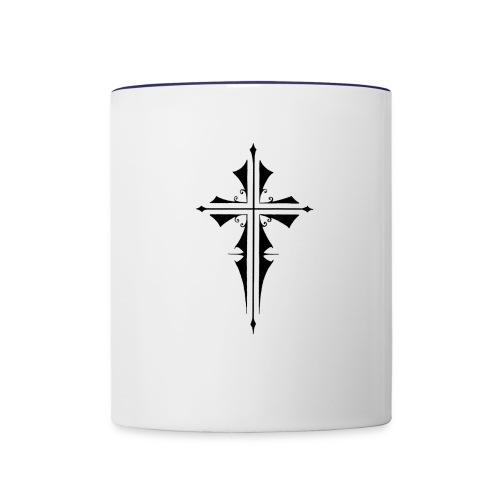 Gothic Cross - Contrast Coffee Mug