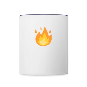 Fire - Contrast Coffee Mug