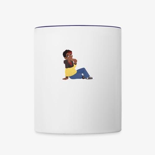 Kookie // Cam - Contrast Coffee Mug