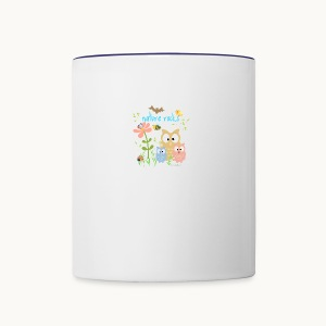NATURE ROCKS CHILDREN Carolyn Sandstrom THR - Contrast Coffee Mug