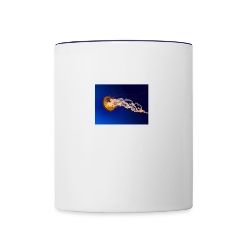 Jellyfish update - Contrast Coffee Mug