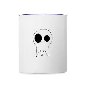 The Grims Skull Logo - Contrast Coffee Mug