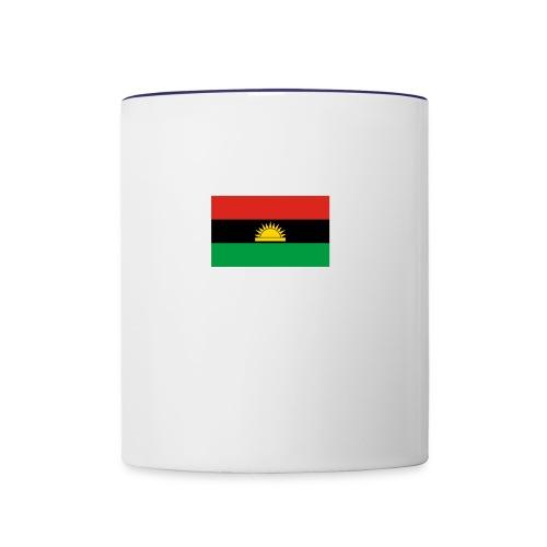 Biafra - Contrast Coffee Mug