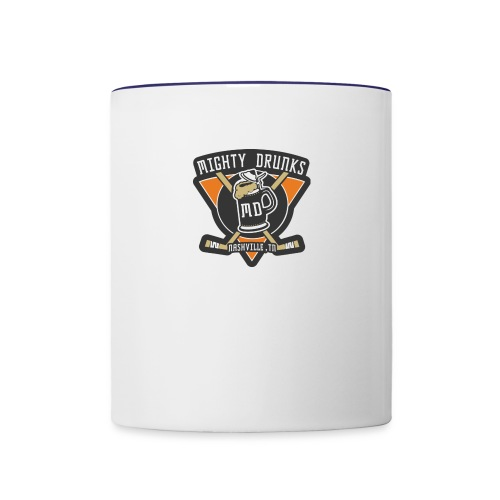 Drunks Logo - Contrast Coffee Mug