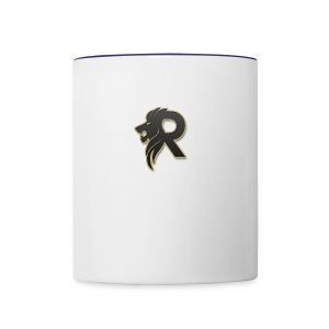 rubzys Merch logo - Contrast Coffee Mug