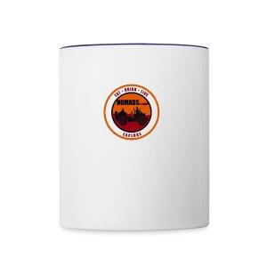 Nomads Logo - Contrast Coffee Mug