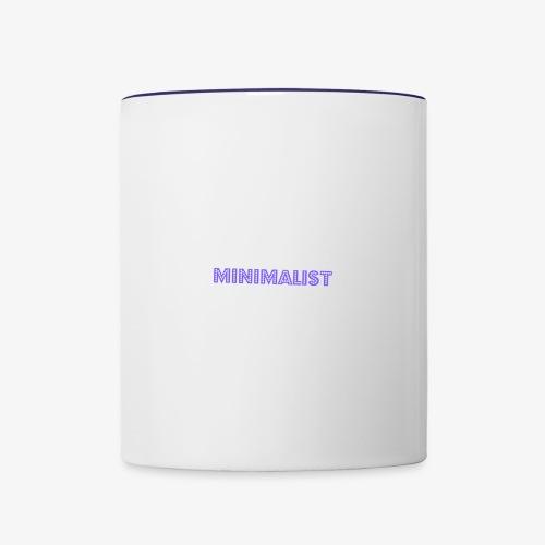 Minimalist Mug - Contrast Coffee Mug