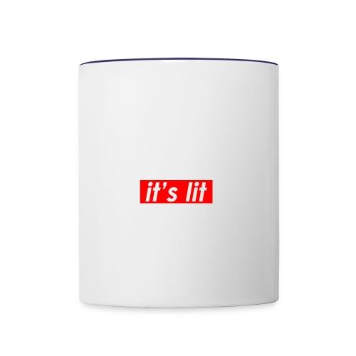 ITS LIT shirts - Contrast Coffee Mug
