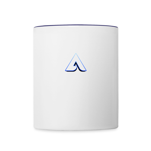Aero logo 3D - Contrast Coffee Mug