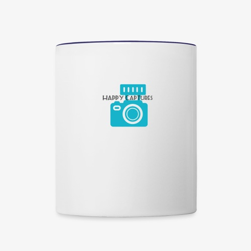 Happy Captures - Contrast Coffee Mug