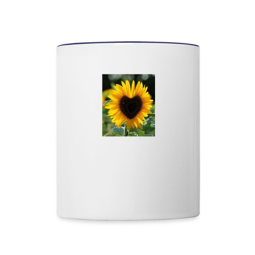 Sunflower of Love - Contrast Coffee Mug