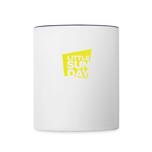littleSUNDAY Official Logo - Contrast Coffee Mug