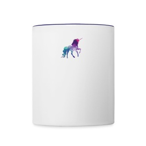 unicorn - Contrast Coffee Mug