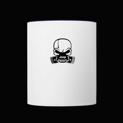 jeep - Contrast Coffee Mug