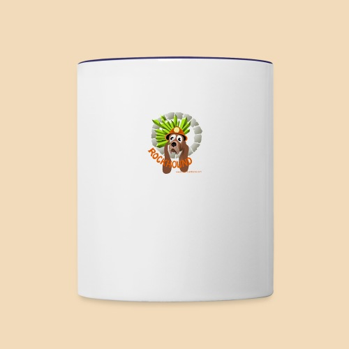 Rockhound cup logo - Contrast Coffee Mug
