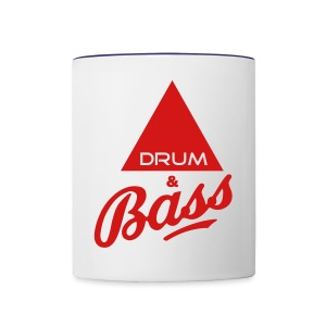 Drum and Bass - Contrast Coffee Mug