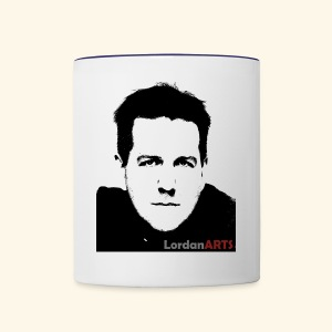 New LordanArts Channel Profile Pic - Contrast Coffee Mug
