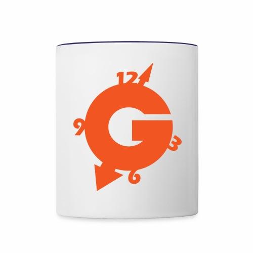NEW GOZOTIME LOGO solo 2018 C - Contrast Coffee Mug