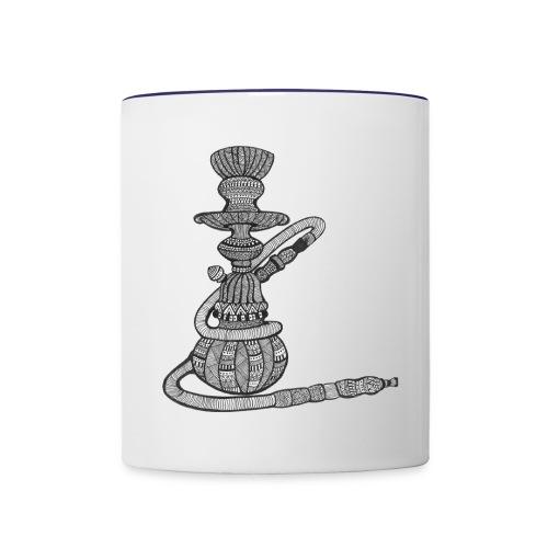 hookah - Contrast Coffee Mug