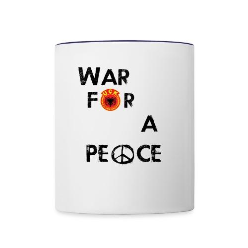 UCK-KLA War for a peace - GunsOfAlbania Design - Contrast Coffee Mug