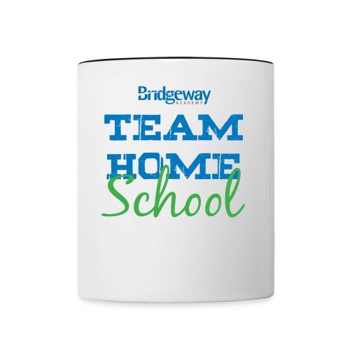 Team Homeschool Color - Contrast Coffee Mug