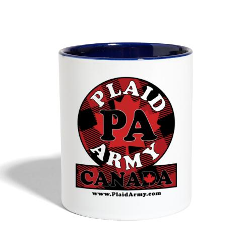 Plaid Army Canada - Contrast Coffee Mug