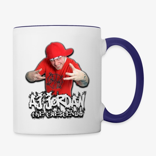 AJ Jordan Red Hat Design PNG - Contrast Coffee Mug
