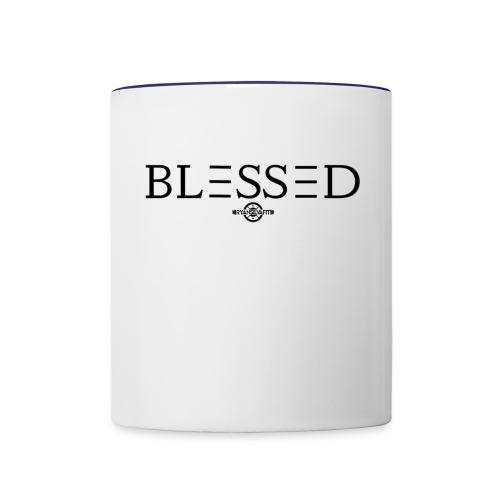 BLESSED - Contrast Coffee Mug