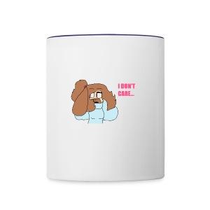 Cinnamon doesn't care.. - Contrast Coffee Mug