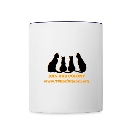 TNR JOIN OUR COLONY - Contrast Coffee Mug