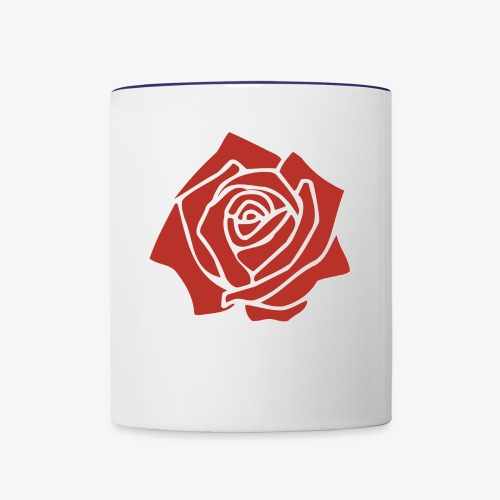 Grateful - Contrast Coffee Mug