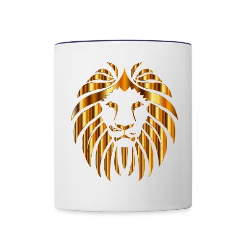 Golden Lion - Contrast Coffee Mug