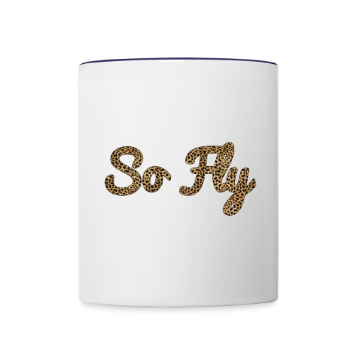 So Fly Cheetah - Contrast Coffee Mug