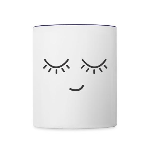 Funny smile - Contrast Coffee Mug