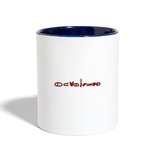 Sign1News in written ASL (Exclusive Design) - Contrast Coffee Mug