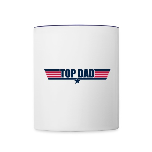 Top Dad - Contrast Coffee Mug