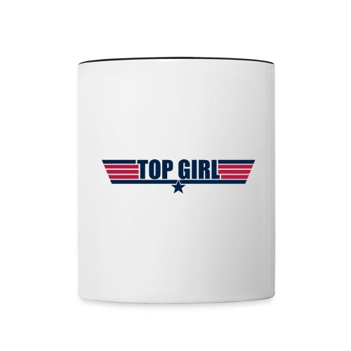 Top Girl - Contrast Coffee Mug