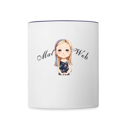 Mallory Chibi png - Contrast Coffee Mug