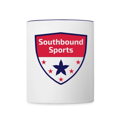 Southbound Sports Crest Logo - Contrast Coffee Mug