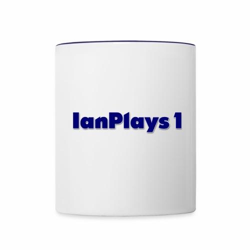 IanPlays1 Mug Logo - Contrast Coffee Mug