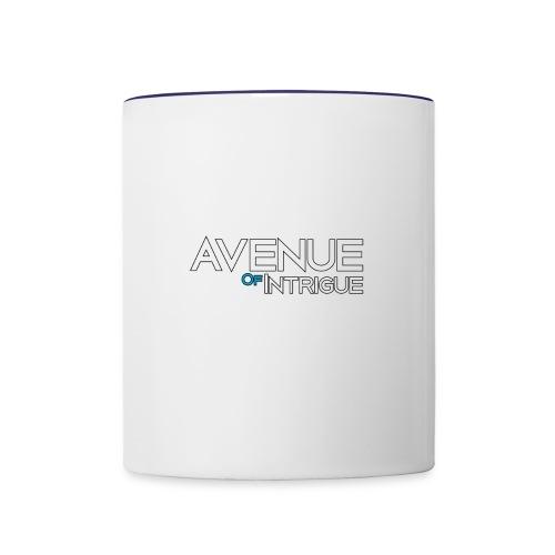 Avenue Blue - Contrast Coffee Mug