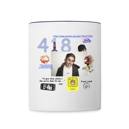 418 - Contrast Coffee Mug