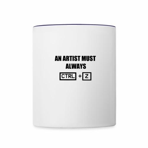 CTRL Z - Contrast Coffee Mug