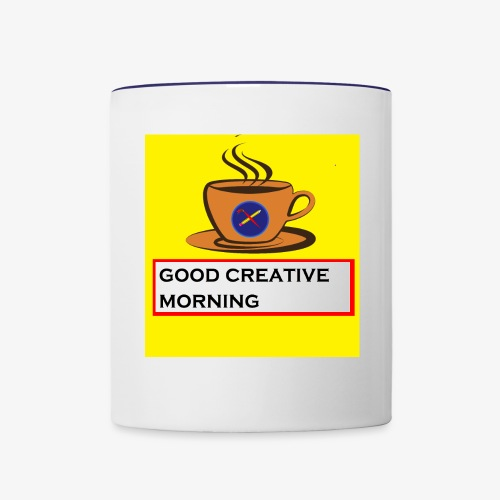 creative morning - Contrast Coffee Mug