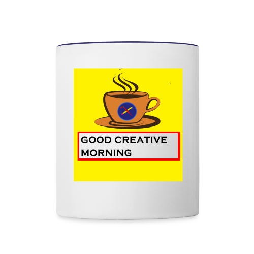 creative morning - Contrast Coffee Mug
