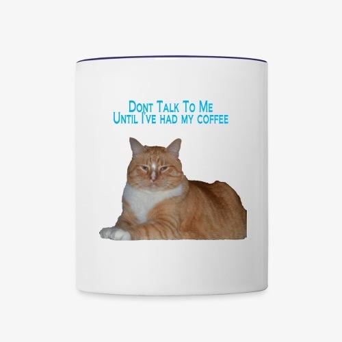 Grumpy Mornings - Contrast Coffee Mug